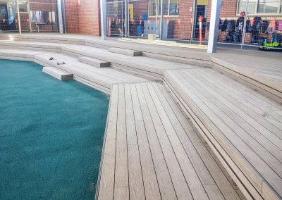 Composite Deck, Heritage College