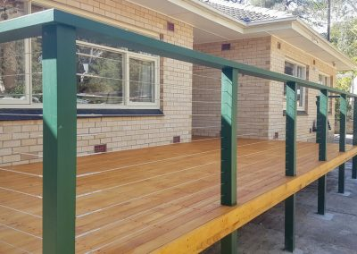 Treated Pine, New Deck, Handrail, Steps, Balustrades
