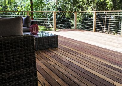 Spotted Gum Deck With Handrail & Balustrade