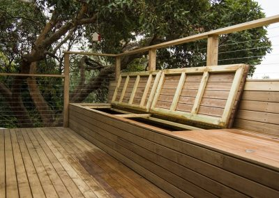 Blackbutt Bench Seat and Roof Deck, Beaumont