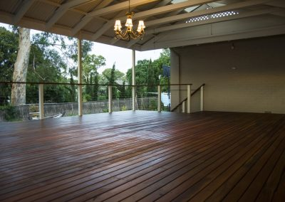 Spotted Gum Deck & Staircase, Urbrae