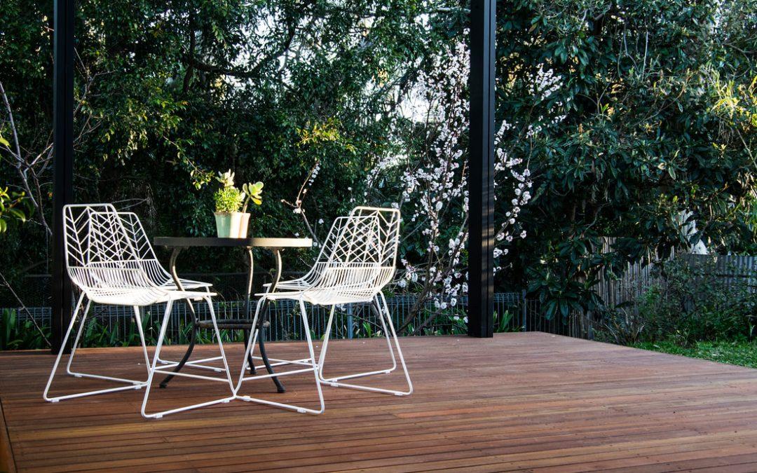 Spotted Gum Deck, Covered Pergola, Banksia Park