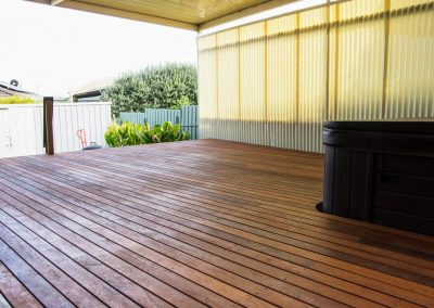Merbau Spa Deck