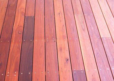 Australian Jarrah Deck, Glandore